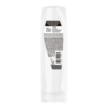 Imagen al parte posterior del paquete Sedal Detox / Yuya Acondicionador 190ml