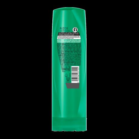 Imagen al parte posterior del paquete Sedal Acondicionador Rizos Definidos 340ml