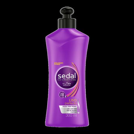 Imagen al frente del paquete Sedal Crema Para Peinar Liso Perfecto 300 ml
