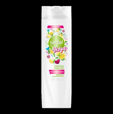 Imagen al frente del paquete Sedal Shampoo Detox / Yuya 190 ml